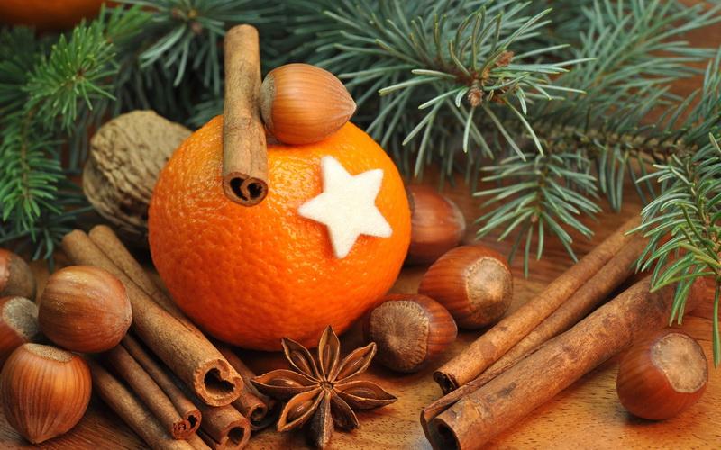Мандарины и Новый год-глинтвейн