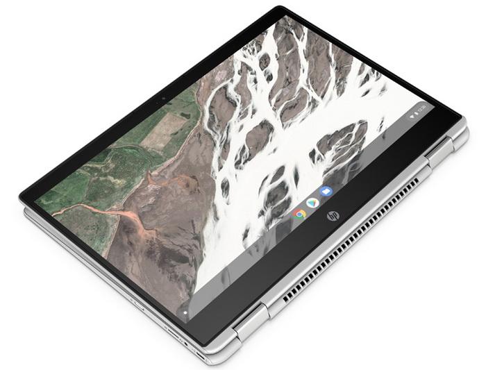 Ноутбук HP Chromebook x360 14 G1-режим планшета