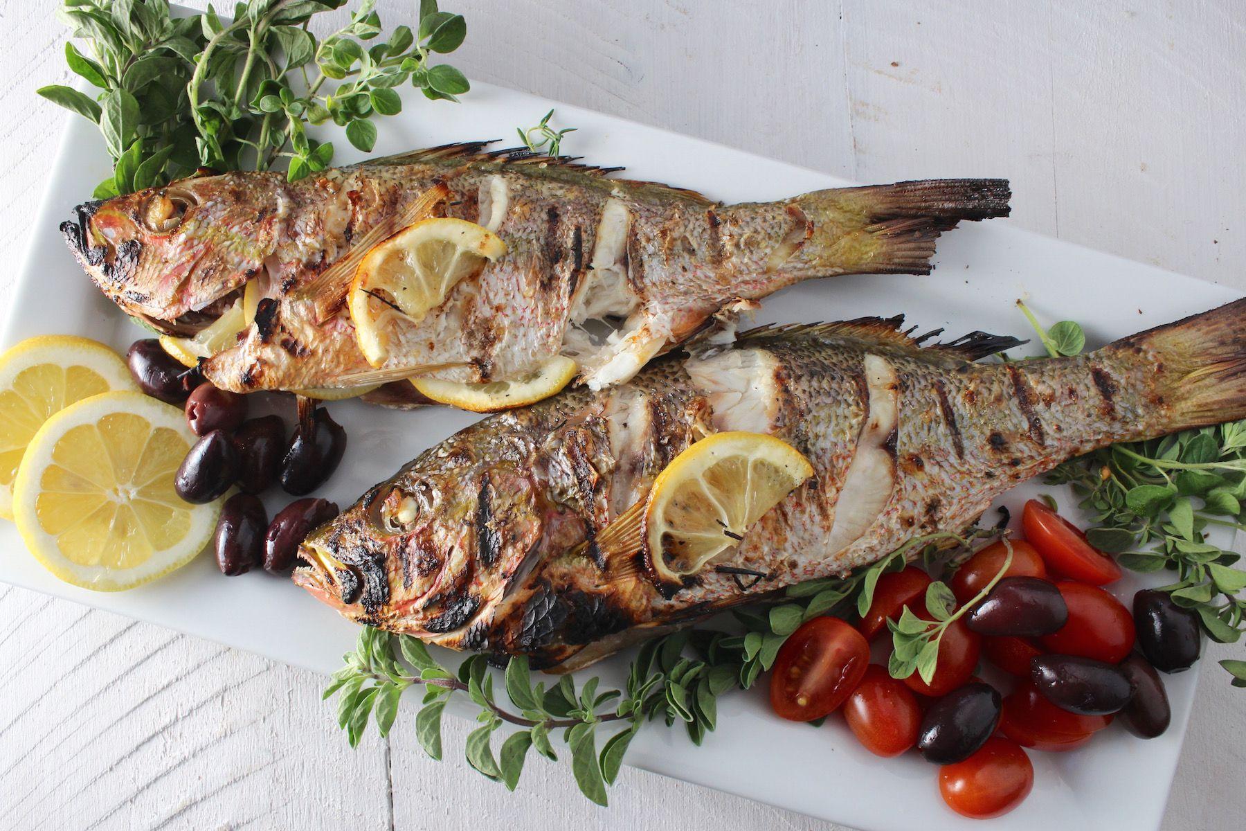 Рыба с травами