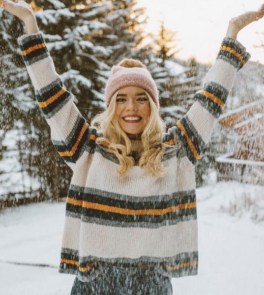 Снег-волшебный январь