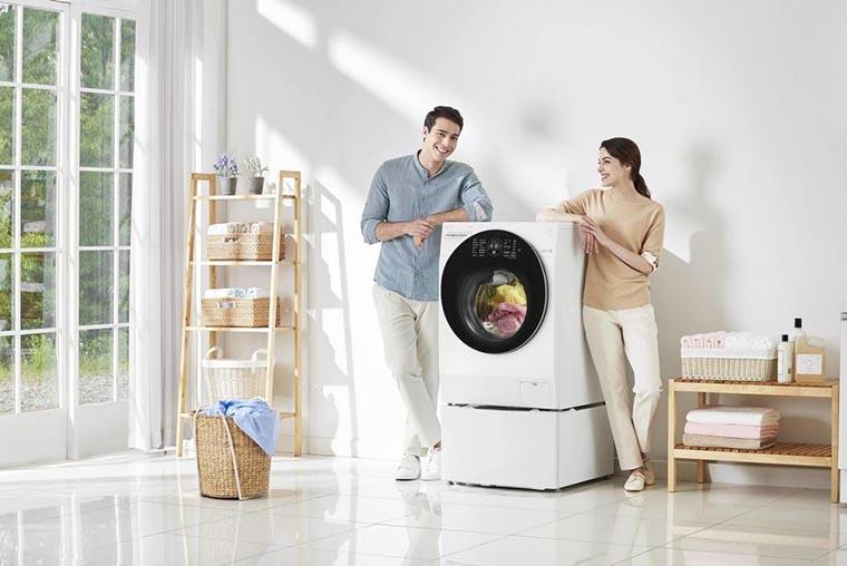 Стиральная машинка TWINWash в доме