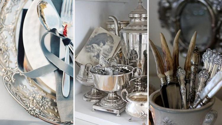 Столовое серебро-как почистить