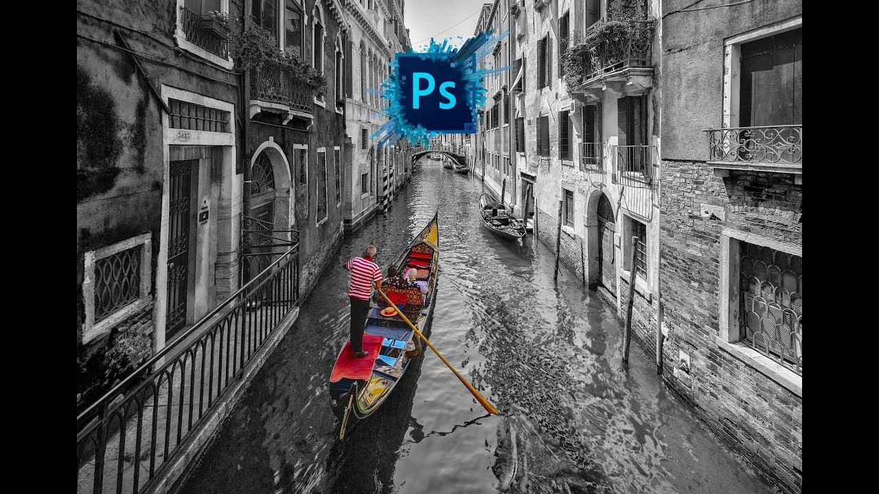 Цветной объект на чёрно-белом фоне. Фоторедактор для смартфона - редактировали на фотошопе