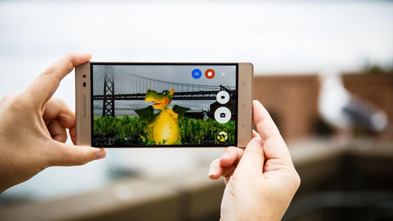 Топ-10 приложений с дополненной реальностью для Android - дракон в дополненной реальности