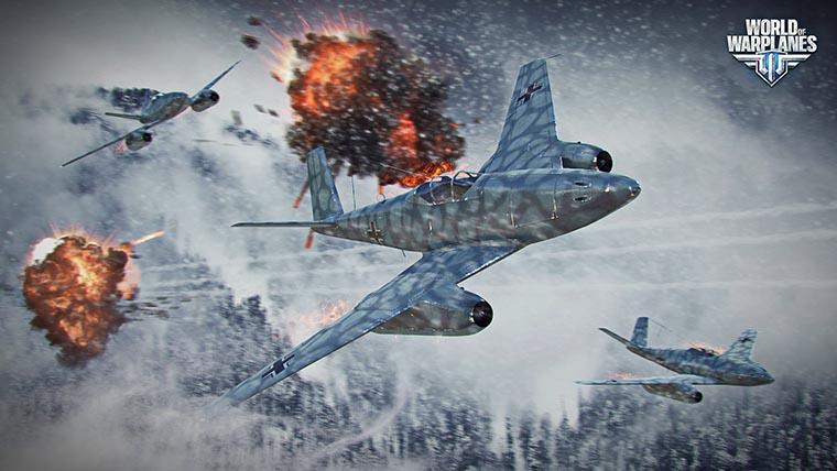 World of Warplanes битва самолетов