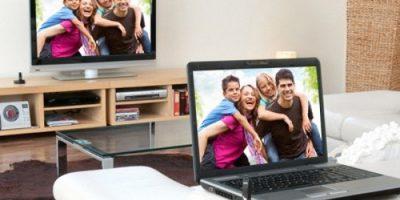 Як підключити ноутбук до телевізора через WiFi