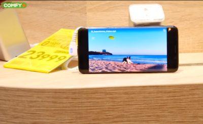 Смартфон с OLED-дисплеем