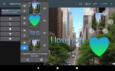 Фоторедактор на Андроїд PhotoEditor
