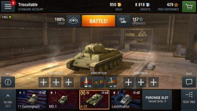 Кращий військові-симулятор в реальному часі для Андроїд World of Tanks Blitz