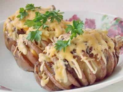 Картофельная гармошка