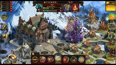 Військово-економічна стратегія на Андроїд Vikings: War of Clans