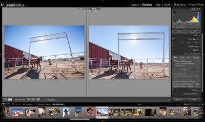 Фоторедактор Photoshop Lightroom для Android