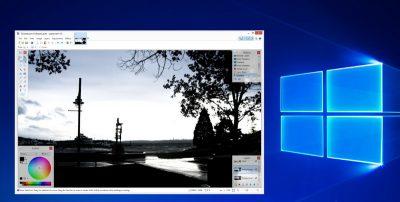 Фоторедактор для Windows Paint.net