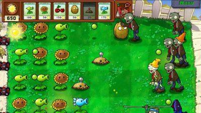 Популярная игра на Андроид Plants vs. Zombies