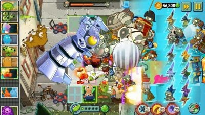 """Гра в жанрі """"захисти вежу"""" на Андроїд Plants vs. Zombies 2"""