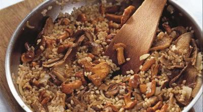 Скільки за часом готувати рис в різотто