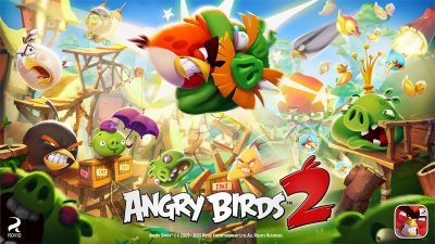 Аркадна гра Angry Birds 2 на Android
