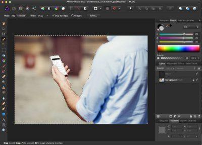 Фоторедактор Affinity Photo для Mac OS