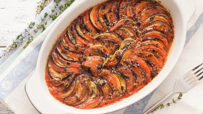 Рататуй - смачна вегетаріанська друга страва