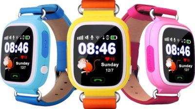 Трекер-часы для ребёнка Smart Baby Watch Q90