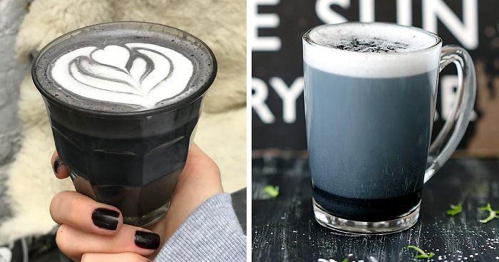 Альтернативный кофе-черный латте