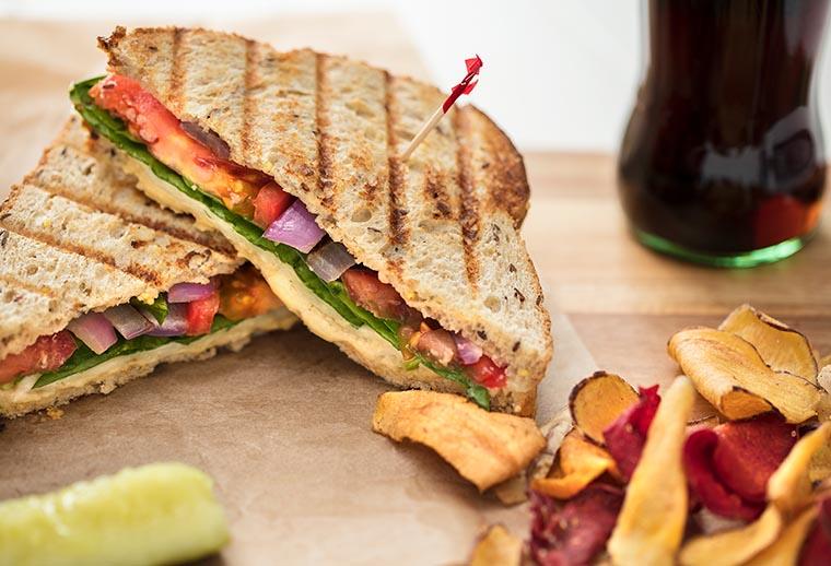 Бутерброды и бекон