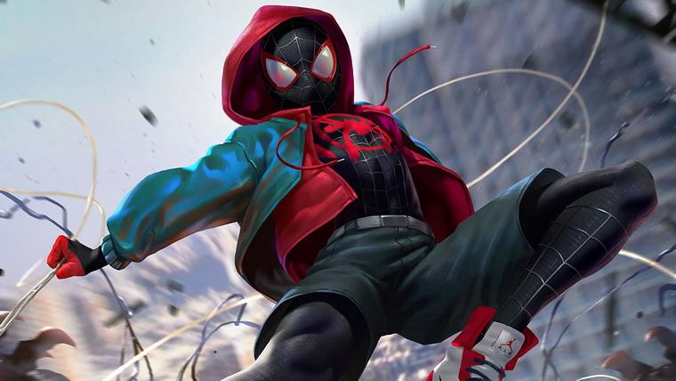 Человек-паук-Через вселенные