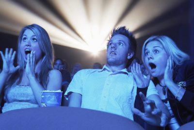 Страшные фильмы - отличный способ снять напряжение