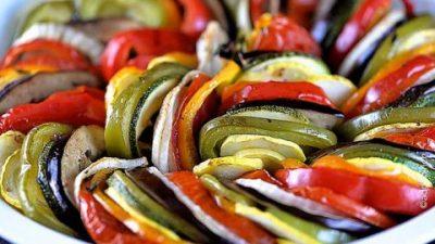 Готовим блюдо для вегетарианцев - рататуй