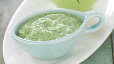 Соус з домашнього йогурту