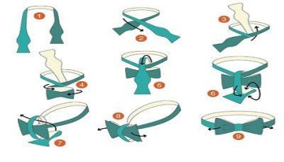 Як зав'язати краватку-метелик
