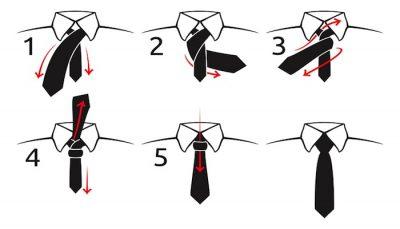 Простой узел галстука - бессмертная классика