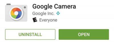 Звідки завантажити Google Camera
