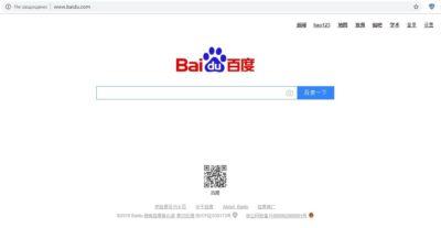 Китайська пошукова система Baudu.com