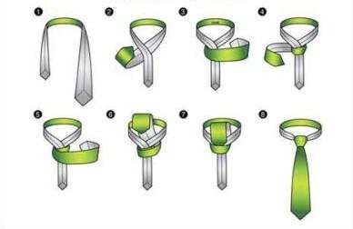 Как завязать галстук узлом Кельвин