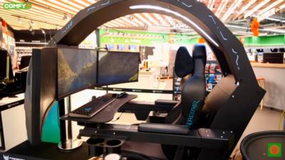 Зовнішній вигляд Acer Predator Thronos