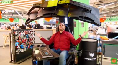 Удобное кресло Acer Predator Thronos