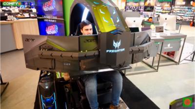 Геймерское кресло Acer Predator Thronos