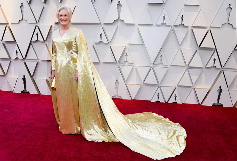 Гленн Клоуз-в платье Carolina Herrera