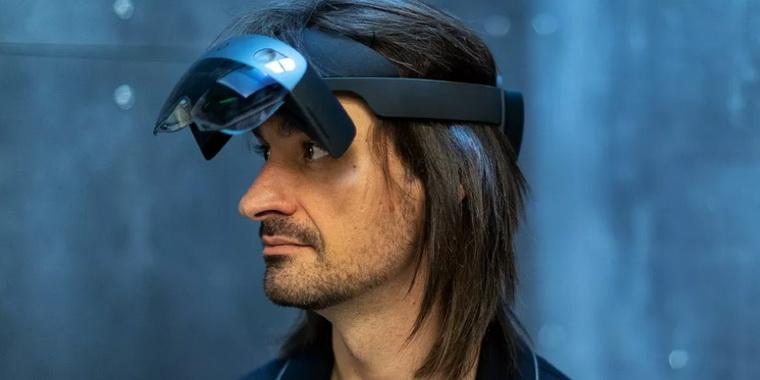 HoloLens 2-второе поколение шлемов смешанной реальности HoloLens