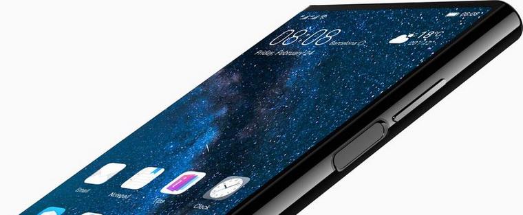 Huawei Mate X-крупный план