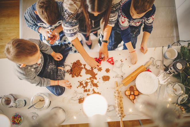 Имбирное печенье-семейный досуг