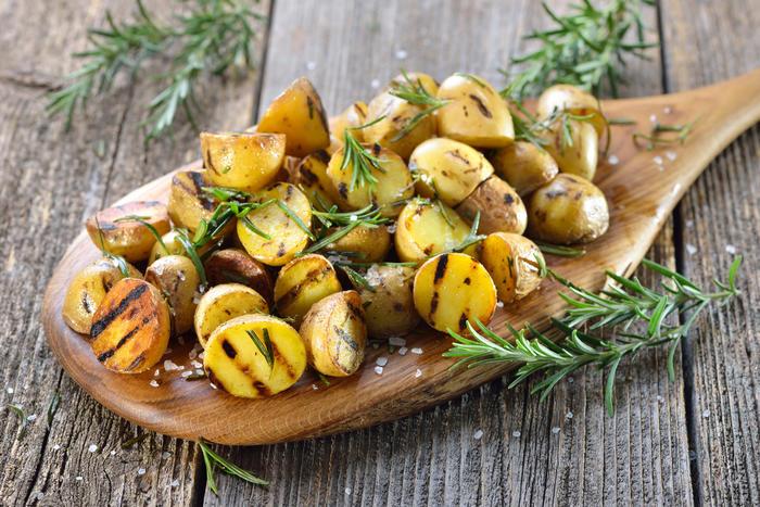 Картофель с розмарином-блюда
