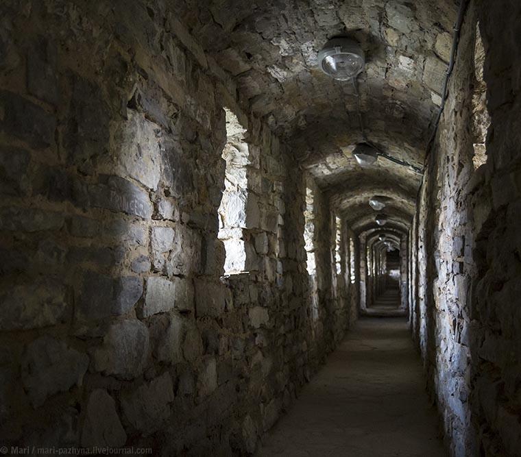 Коридор в Каменец-Подольской крепости
