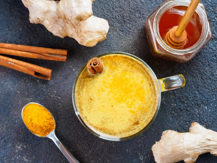 Куркума-латте-golden milk