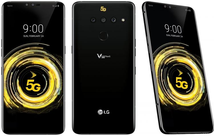 LG-5G-смартфон V50 ThinQ 5G