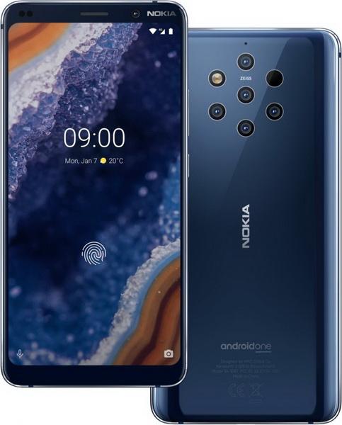 Nokia 9 PureView-дизайн