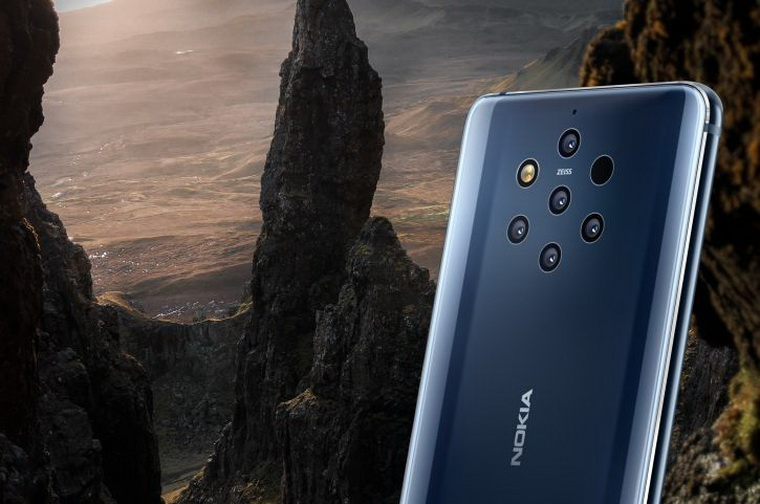 Nokia 9 PureView-пять камер