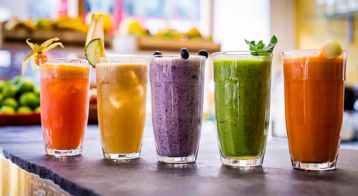 Питьевые смузи-тренды в напитках
