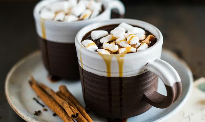 Пряный горячий шоколад-в мультиварке